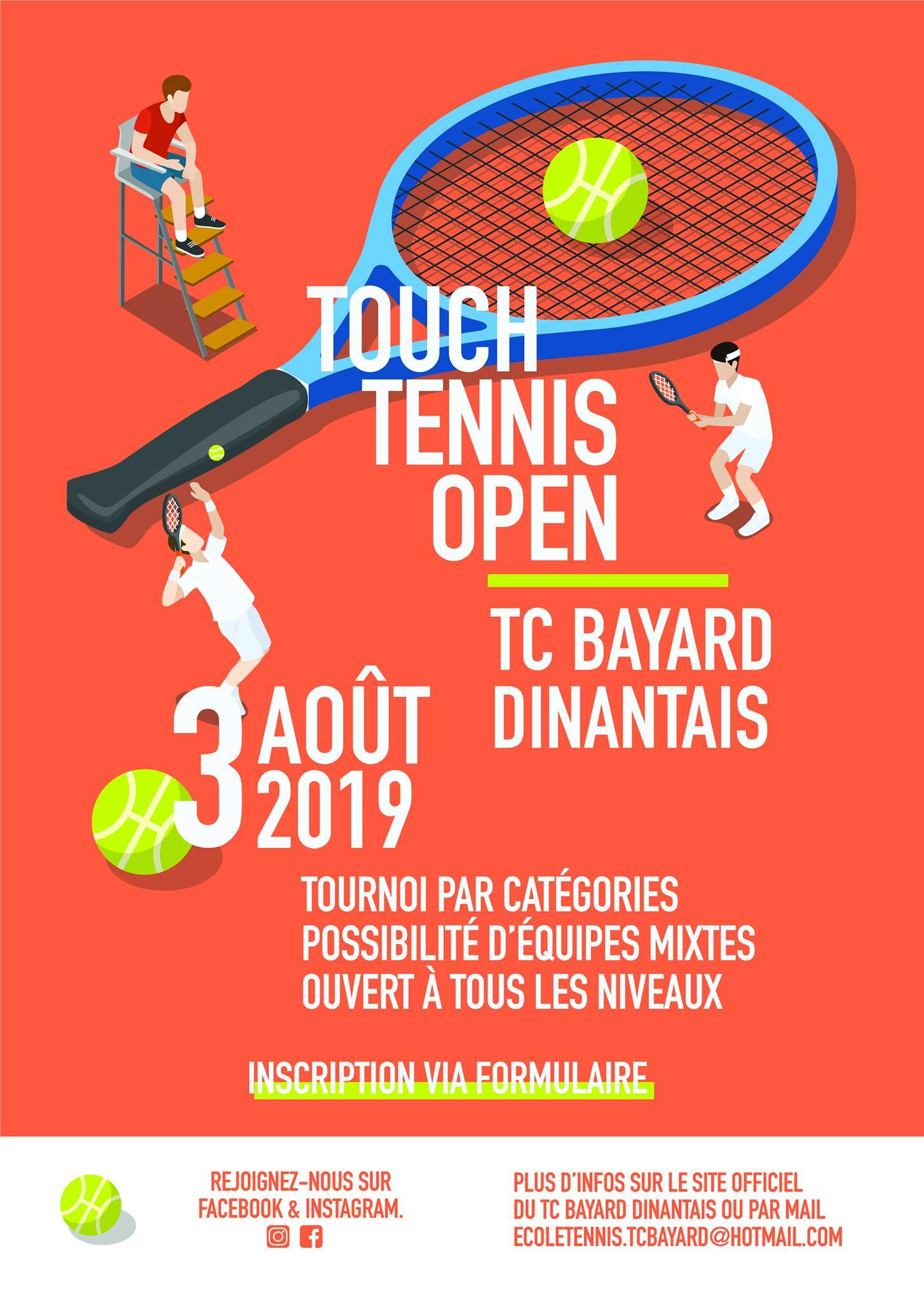 Touch tennis affiche
