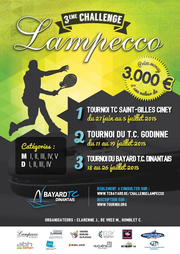 Challenge Lampecco: clap 3ème!